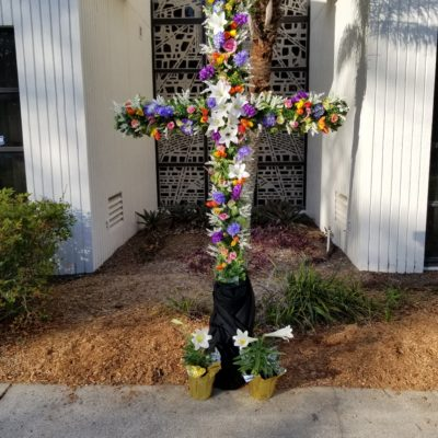 Prayer Cross on Easter Sunday - 2018