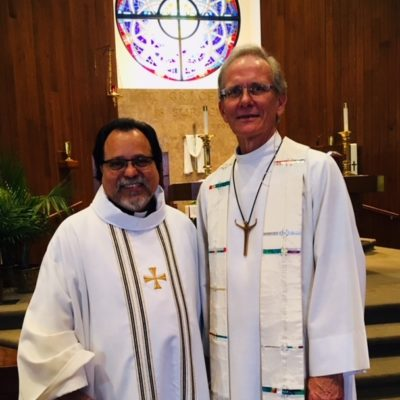 Bishop Suarez and Pastor John